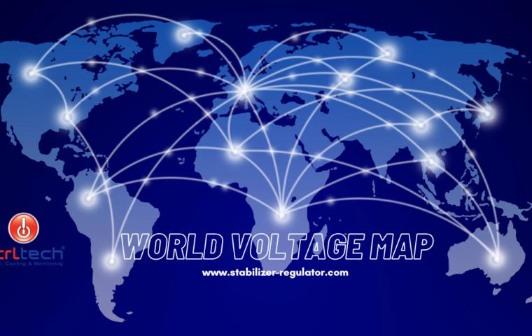 World Voltage Map