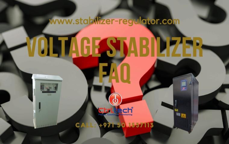 FAQs regarding voltage stabilizer and regulators.