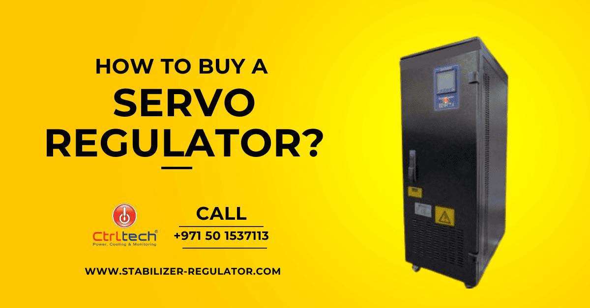 How to buy a servo voltage regulator?