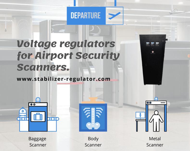 Voltage regulator for airport security scanner.