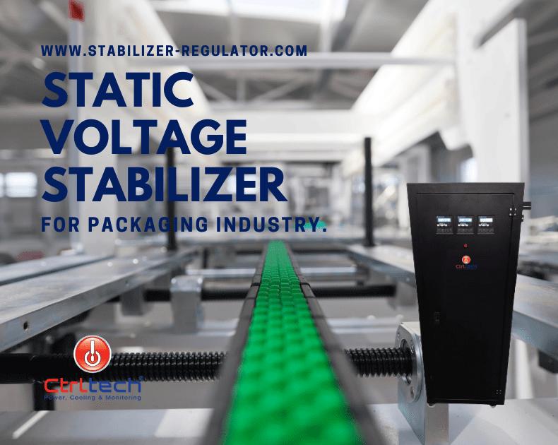 Voltage regulator for packaging industry.